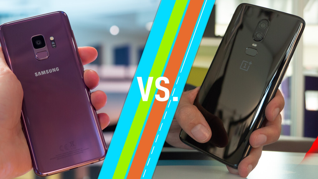 Galaxy S9 vs. OnePlus 6