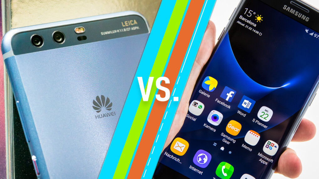 huawei p10 vs galaxy s7 smartphones im vergleich netzwelt. Black Bedroom Furniture Sets. Home Design Ideas