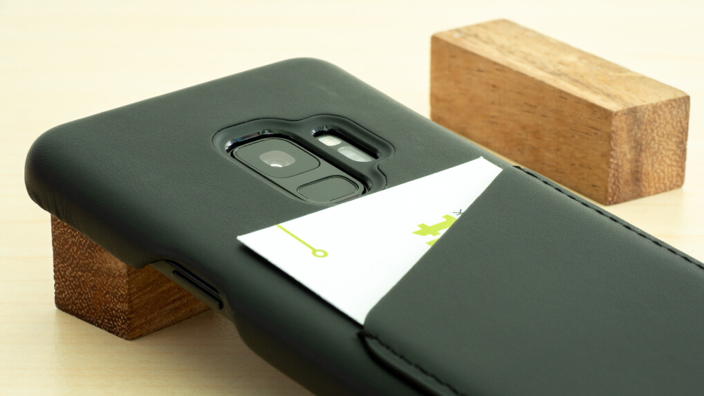 check out e06cb f5f8e Mujjo Leather Wallet Case für Galaxy S9 im Test: Edler Problemlöser ...