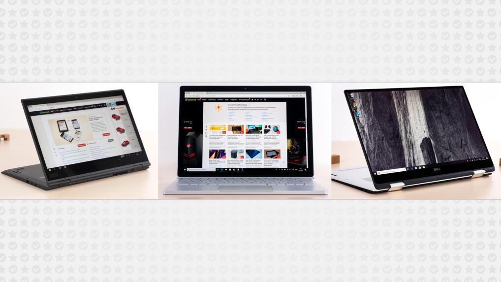 die besten convertible laptops im vergleich 3 top modelle. Black Bedroom Furniture Sets. Home Design Ideas
