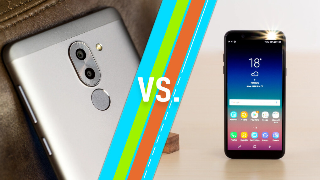 Honor 6x Vs Samsung Galaxy A6 2018 Smartphones Im Vergleich