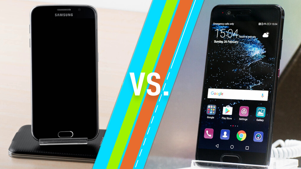 samsung galaxy s6 vs huawei p10 smartphones im vergleich netzwelt. Black Bedroom Furniture Sets. Home Design Ideas