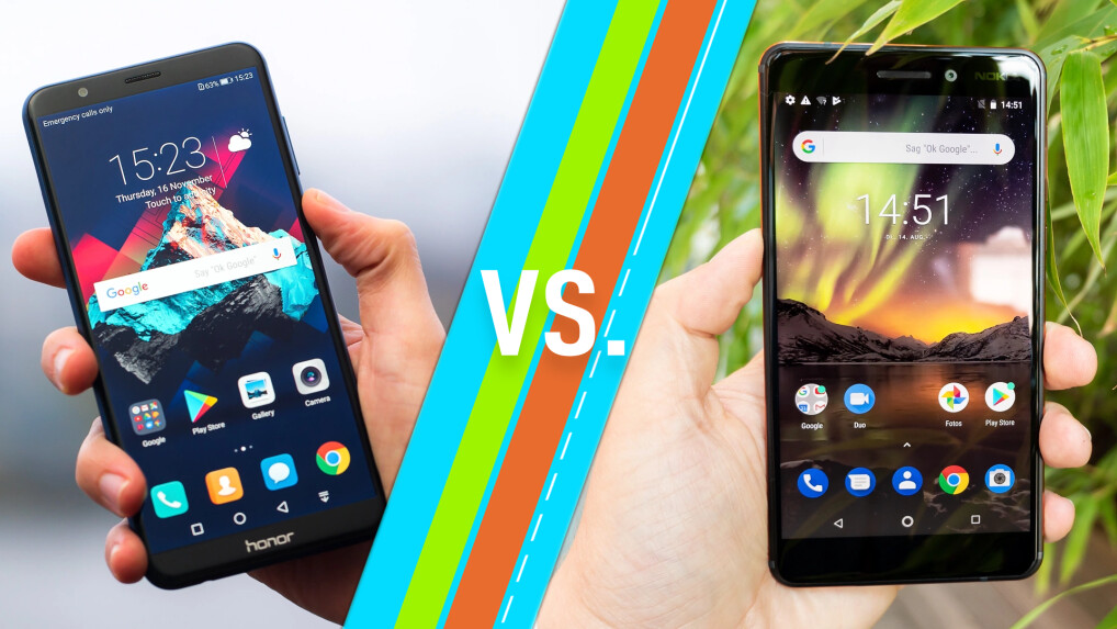 Honor 7X vs. Nokia 6.1
