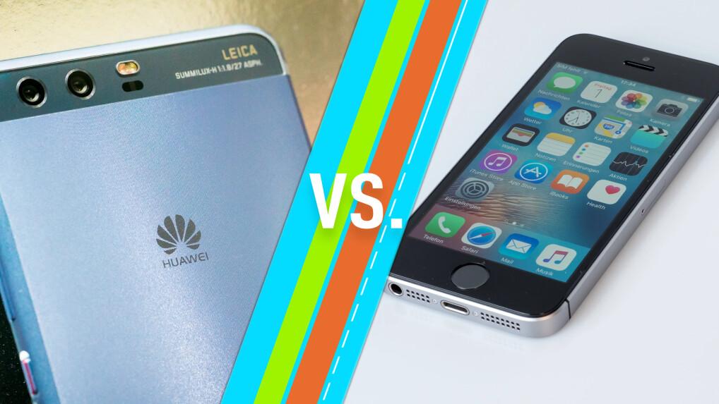Iphone Se Sim Karte.Iphone Se Vs Huawei P10 Smartphones Im Vergleich Netzwelt