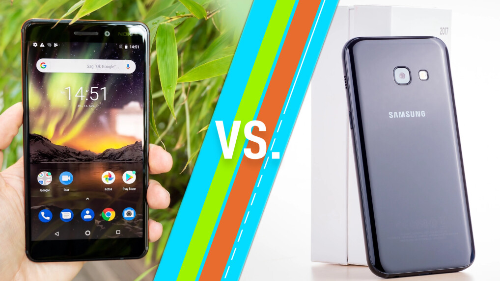 Nokia 6.1 vs. Samsung Galaxy A3 (2017)