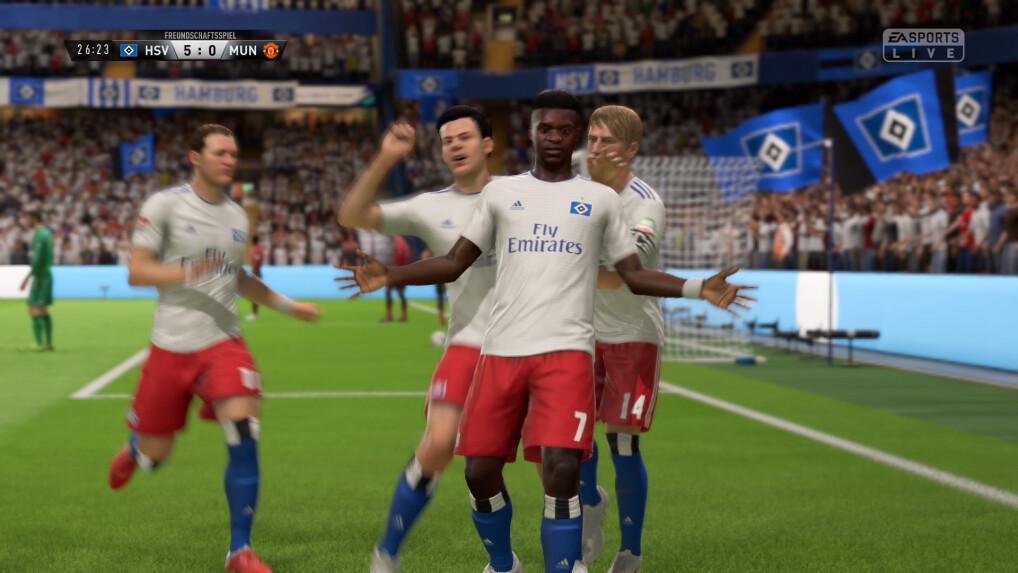 Fifa 19 Im Test So Gewinnt Der Hsv Die Champions League Netzwelt