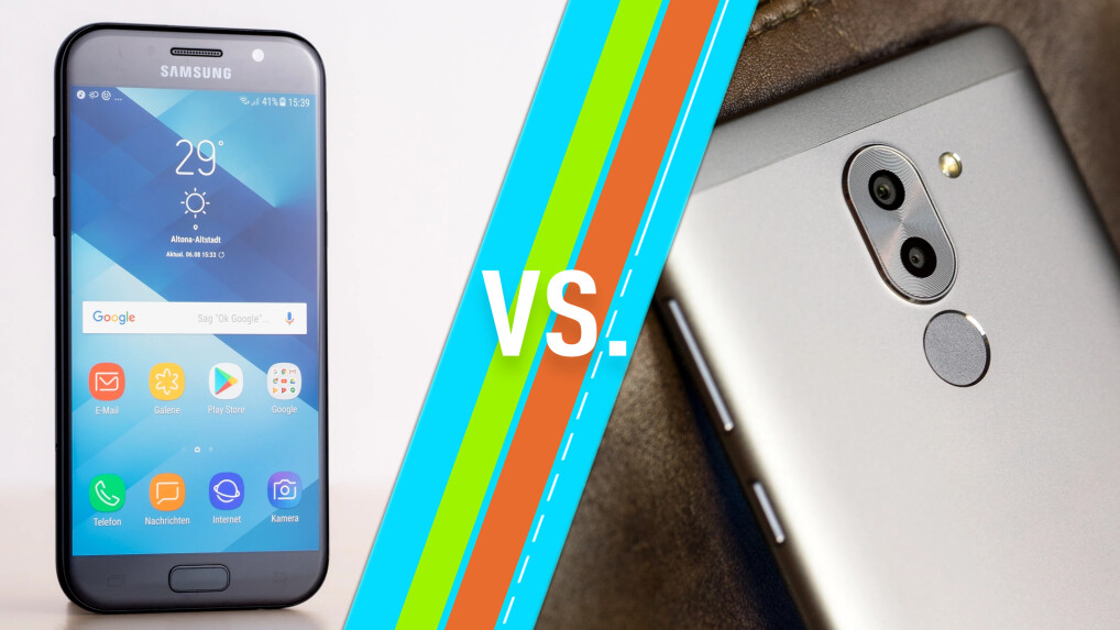 Samsung Galaxy A5 (2017) vs. Honor 6X