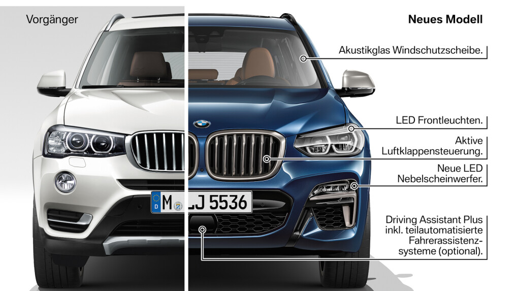 bmw x3 2017 alle infos zum neuen modell netzwelt. Black Bedroom Furniture Sets. Home Design Ideas