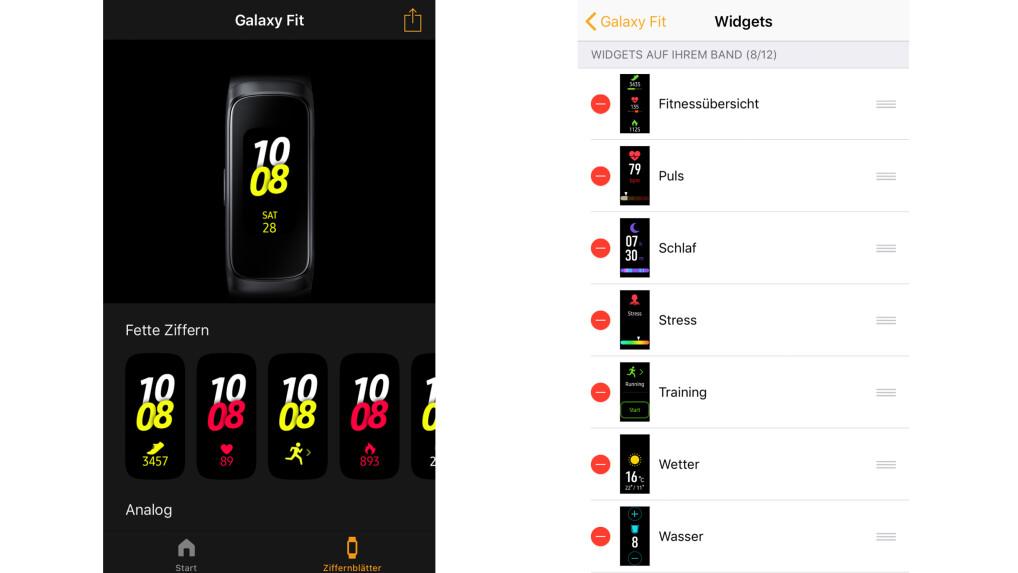 Samsung Galaxy Fit im Test: Solider Fitness-Tracker mit Luft nach oben
