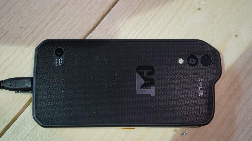 Entfernungsmesser Für Handy : Ersteindruck cat s61: dieses dreckige smartphone kostet 900 euro