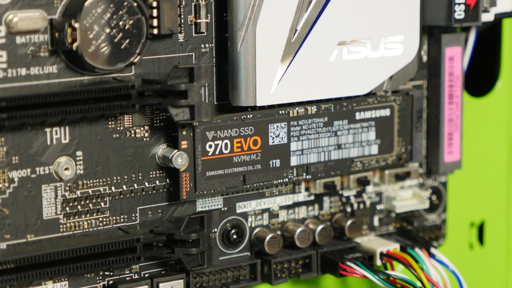 Samsung 970 EVO im Test: Höhere Geschwindigkeit, längere