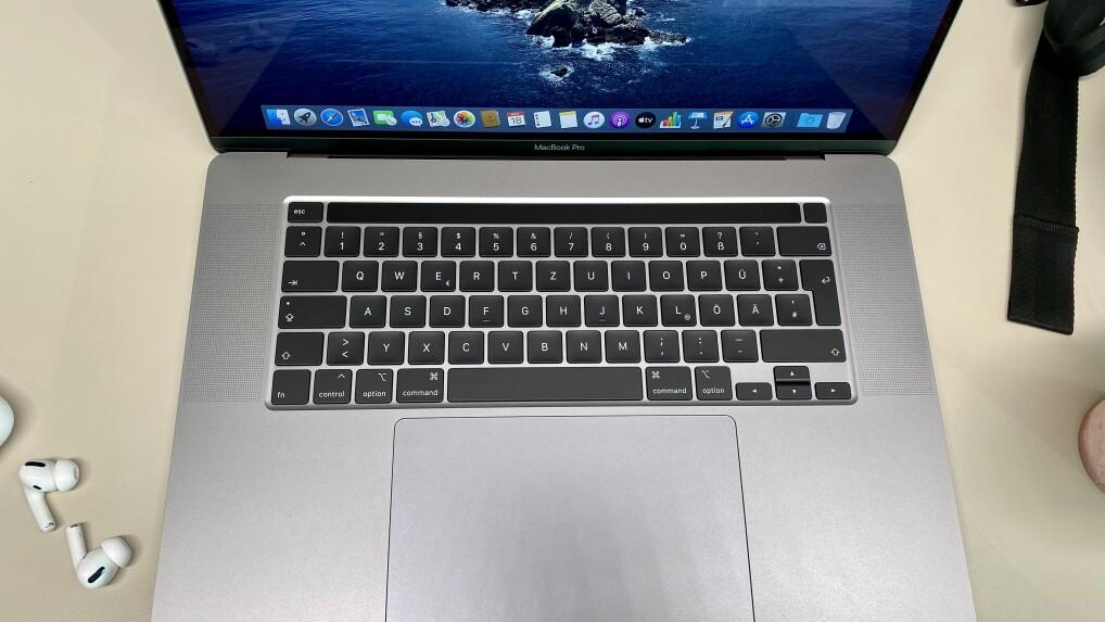 """Apple MacBook Pro 16"""" im Test: Der Best-of-Mac 2019"""
