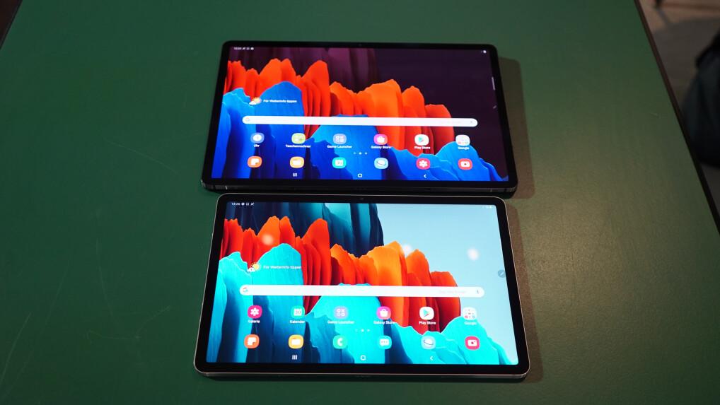 Galaxy Tab S7 und S7+: So unterscheiden sich die Samsung ...