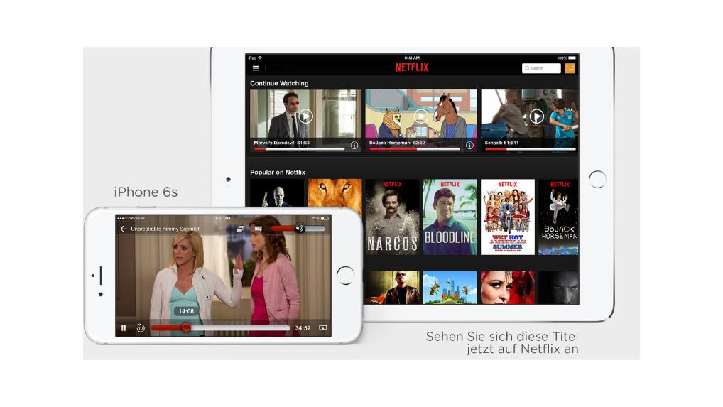 Netflix 4 Geräte