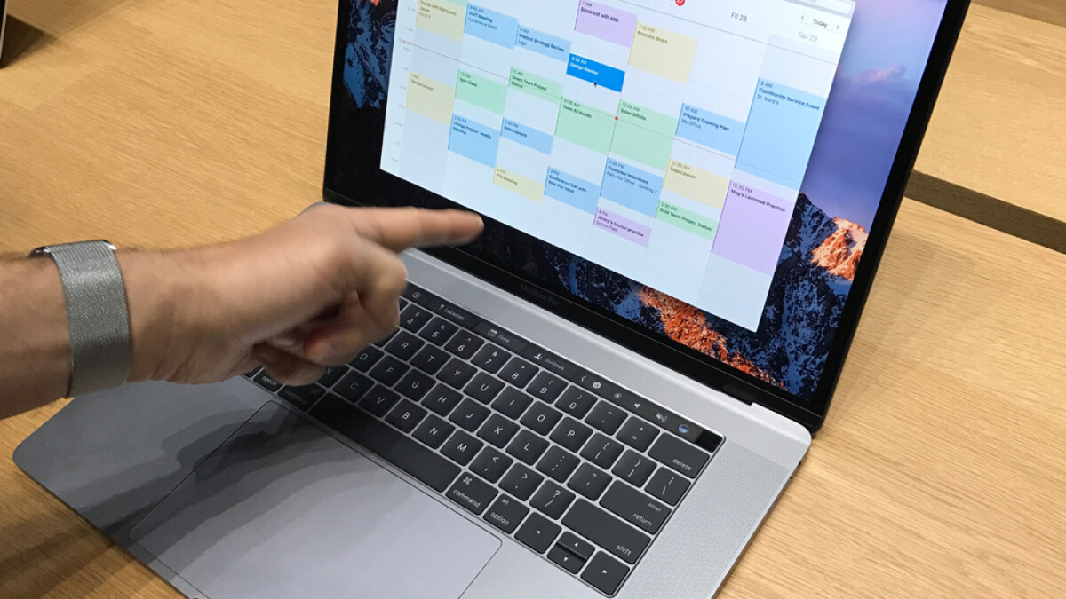 Apple introduced the Touch Bar on the 2016 MacBook Pro.  It could disappear again in 2021.