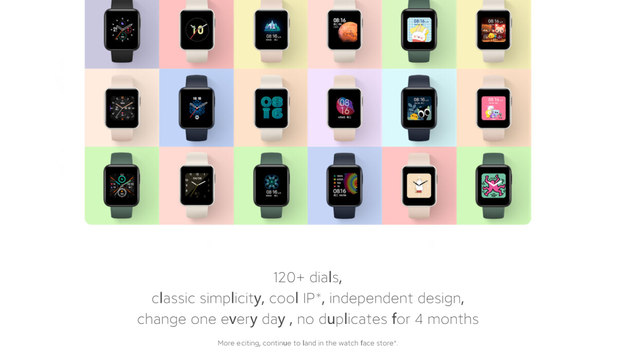 The Redmi Watch could be announced tomorrow as Mi Watch Lite for the international market.