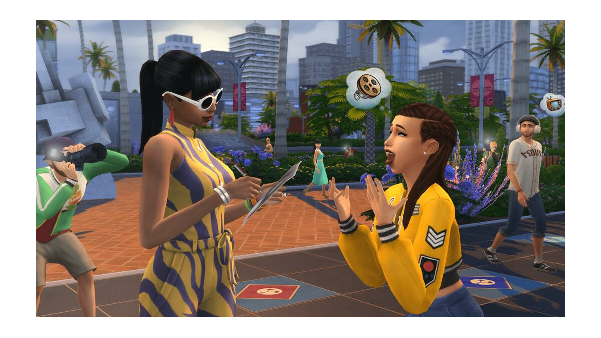 Sims 4 Koch Karriere