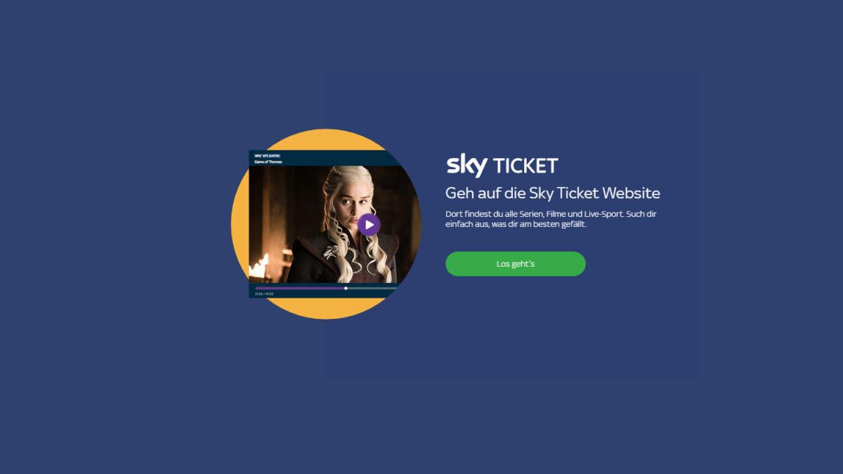 Sky Ticket Auf Sony Tv