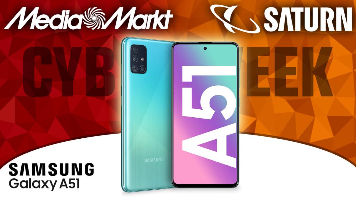 Samsung Galaxy A51 im Angebot bei Media Markt & Saturn in der Cyber Week