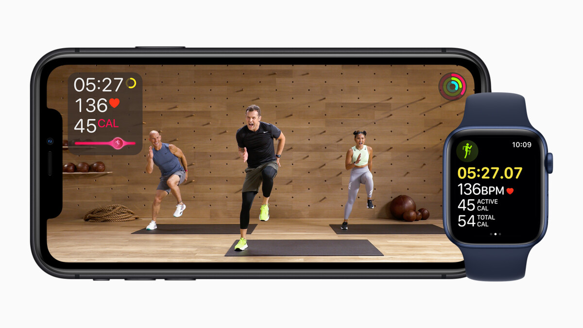 Apple is launching an online gym with Fitness +.