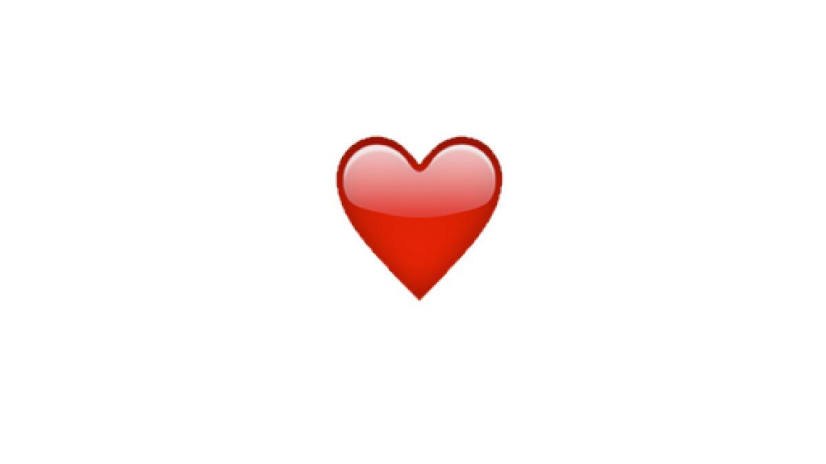 Rotes Herz Snapchat