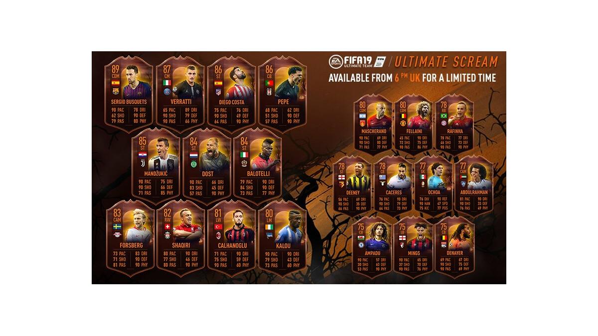 Fifa 18 Halloween Karten