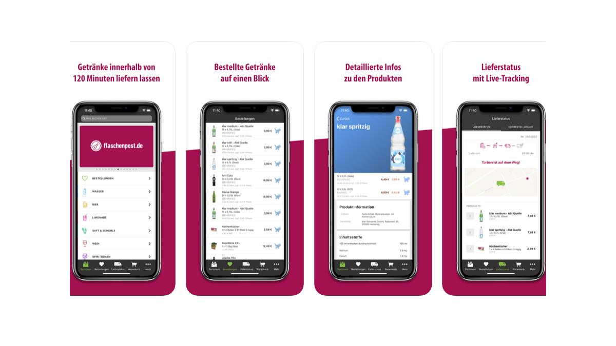Flaschenpost App