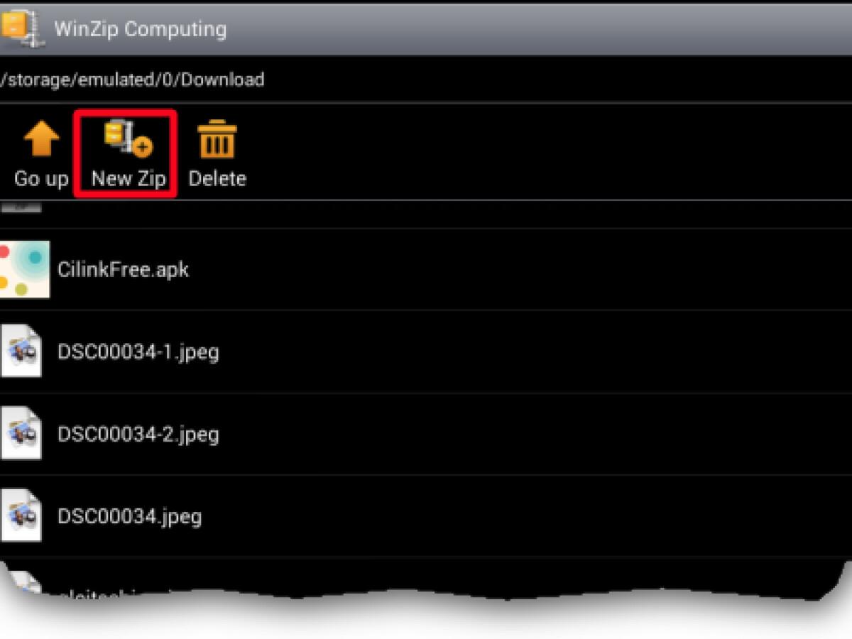 Zip Datei Virus Android
