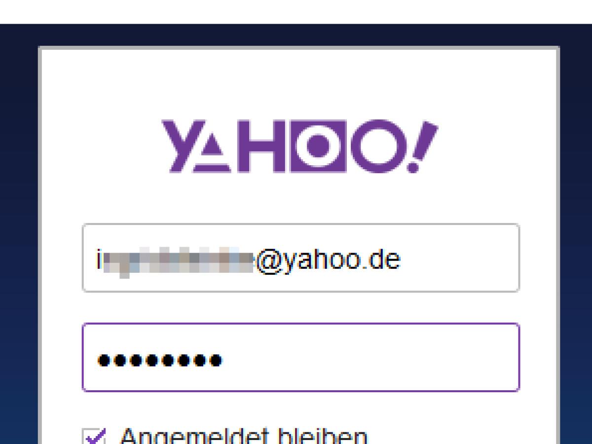 Yahoo deutschland login