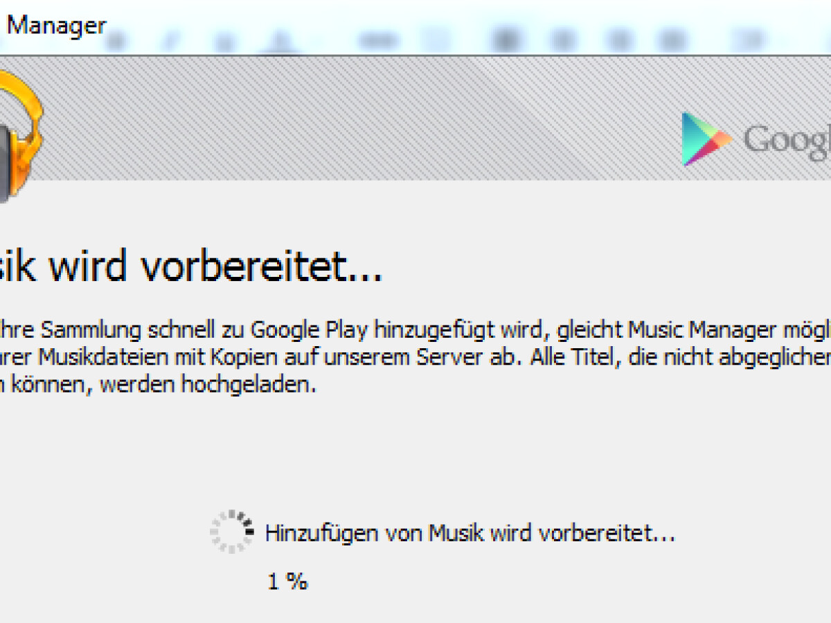 Google Play Music Speicherort