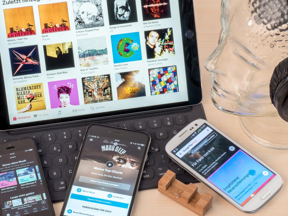 Musik Streaming Vergleich Die 11 Besten Anbieter Im Test