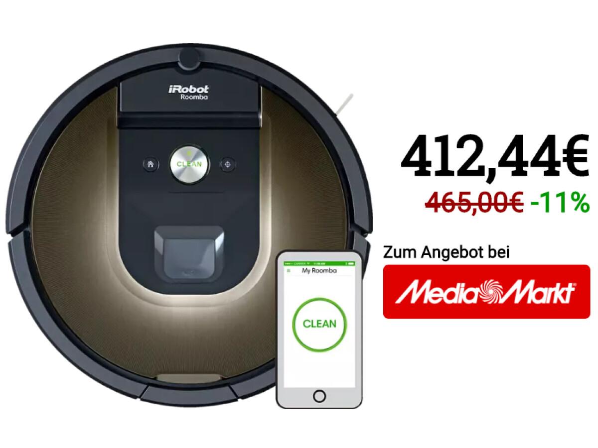 Aspirador de pó robô iRobot Roomba 980