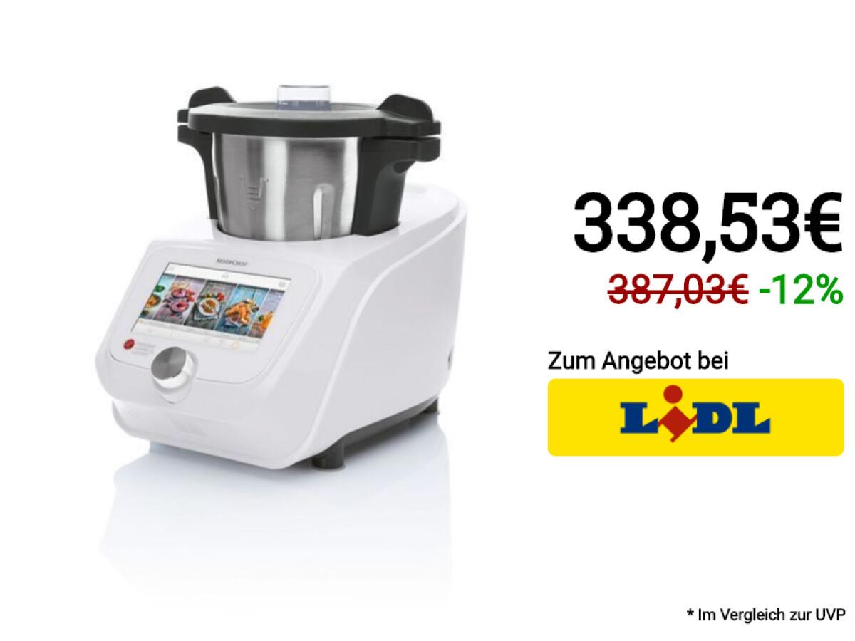 Silvercrest Küchenmaschine Monsieur Cuisine Connect Skmc 1200 2021
