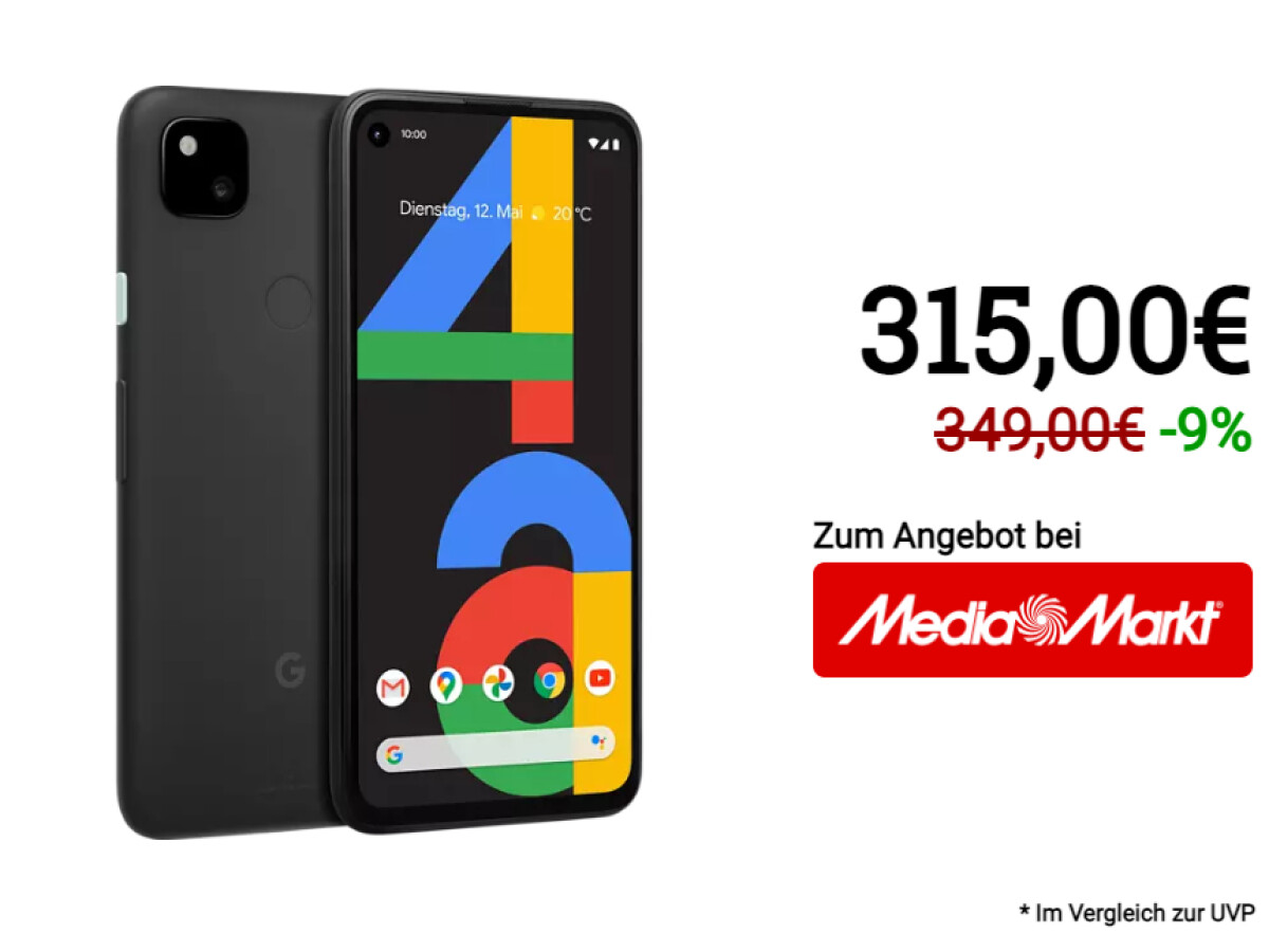 Google Pixel 4a |  128 Gigabyte Speicher