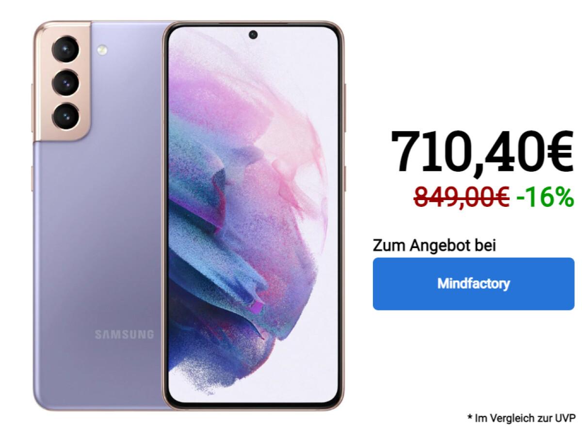 Samsung Galaxy S21 | 128 Gigabyte Speicher