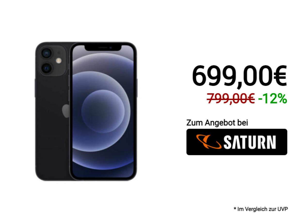 Apple iPhone 12 Mini | 128 Gigabyte Speicher