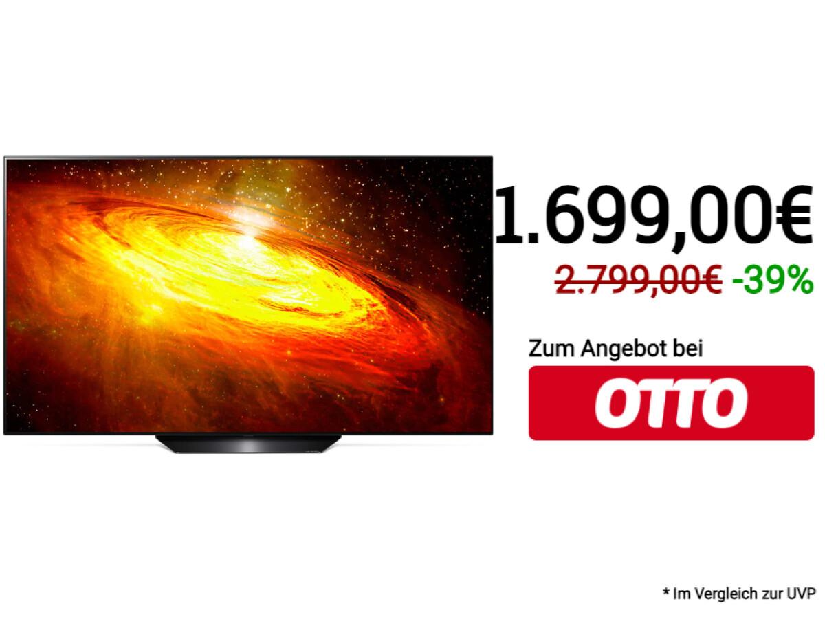 LG OLED65BX9LB    OLED-TV    65 Zoll