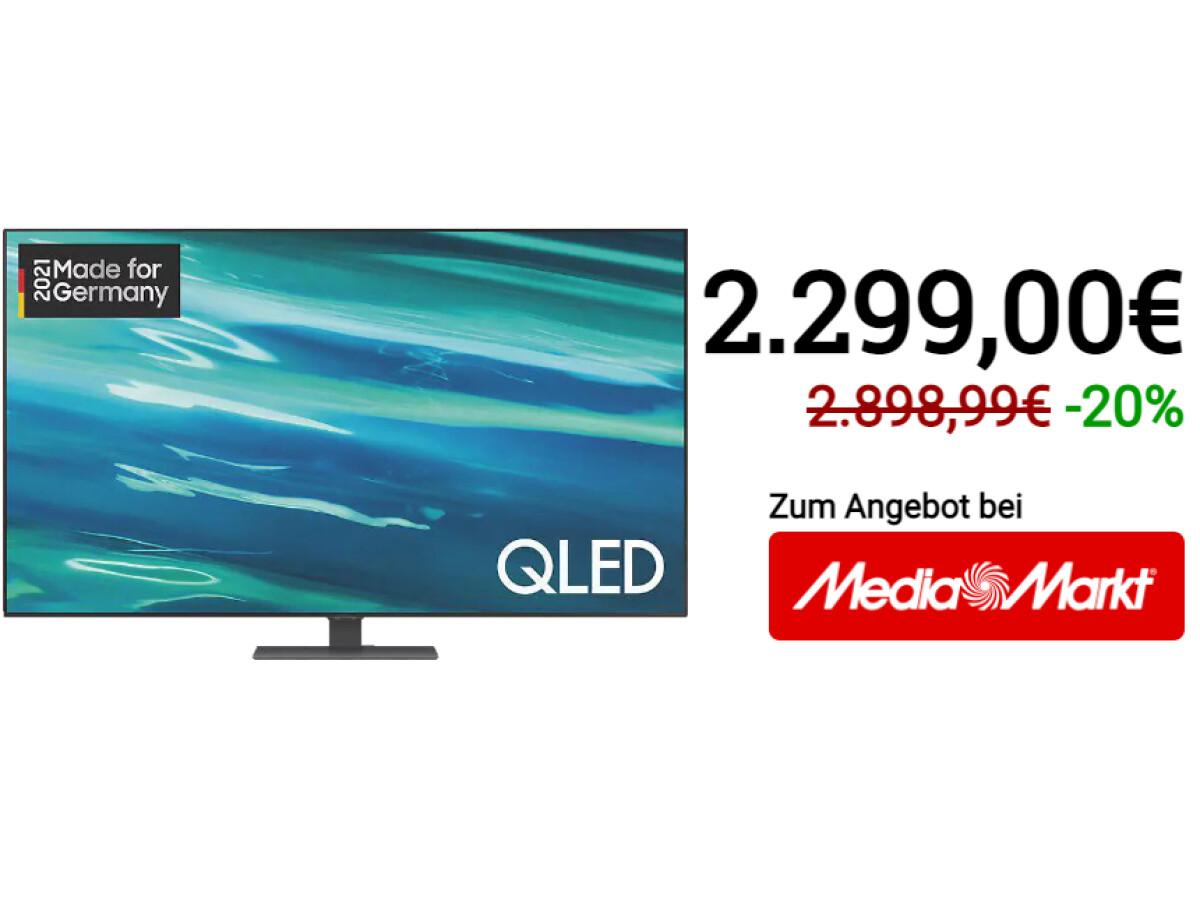 Samsung GQ75Q80A |  QLED TV |  75 in