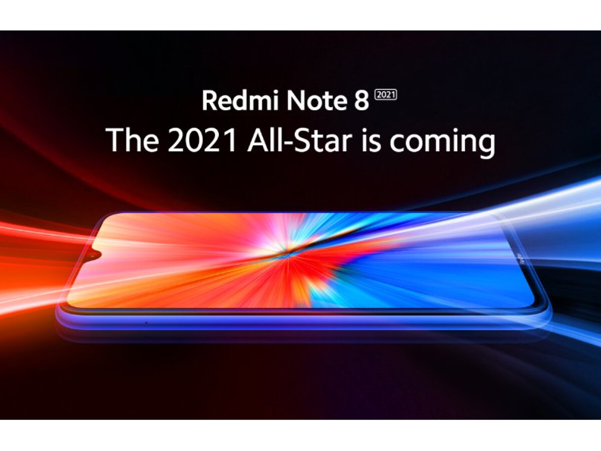 Xiaomi announces a new edition of the Redmi Note 8 for 2021.