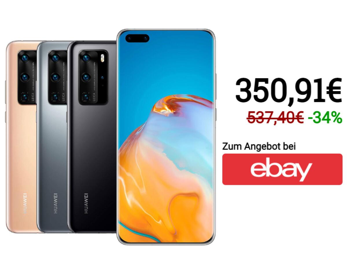 Huawei P40 Pro |  256 gigabytes of memory