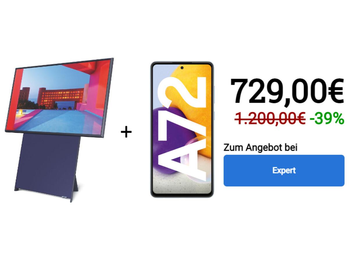 Samsung Galaxy A72 + The Sero