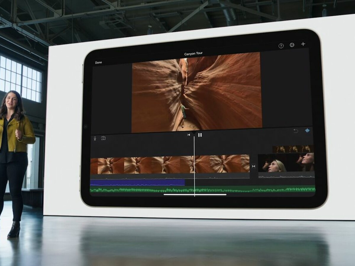 Apple introduced the new iPad 10.2 together with the iPhone 13.