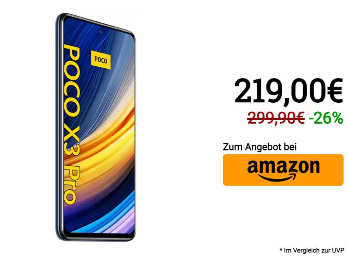 Xiaomi Poco X3 Pro | 256 Gigabyte Speicher