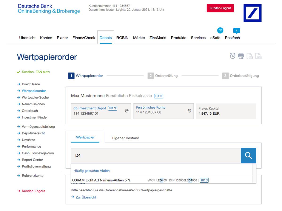 Maxblue Depot im Test Was kann der Online Broker der Deutschen ...