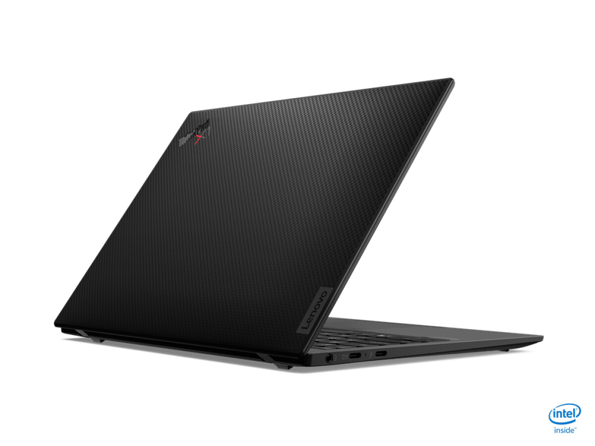 The ThinkPad X1 Nano is also optionally available with a visible carbon structure on the lid.  Most of the rest is made of aluminum.