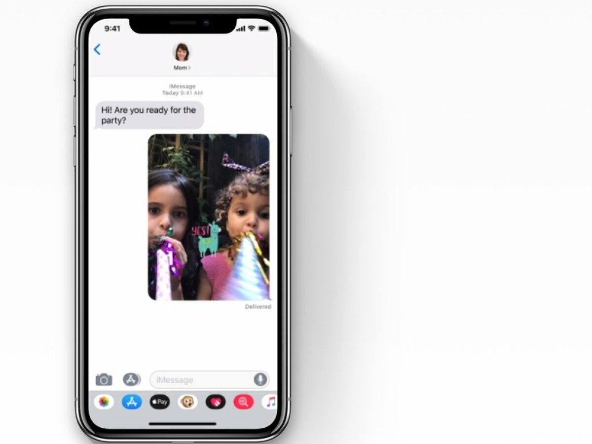Apple iOS   Anleitungen für das iPhone Klebt in Messages einen ...