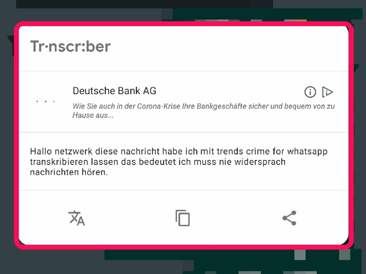 Whatsapp Sprachnachrichten Schreiben