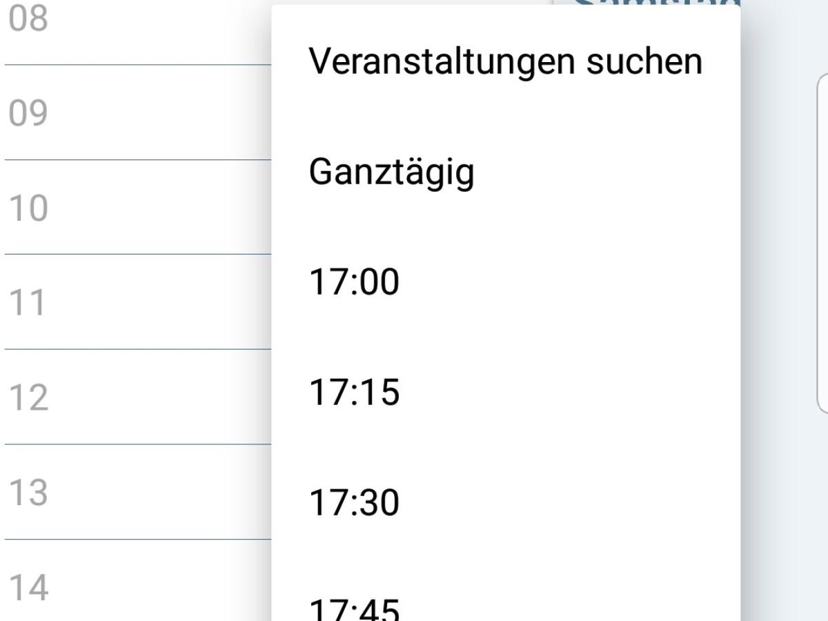 Acalendar Anleitung acalendar - android kalender