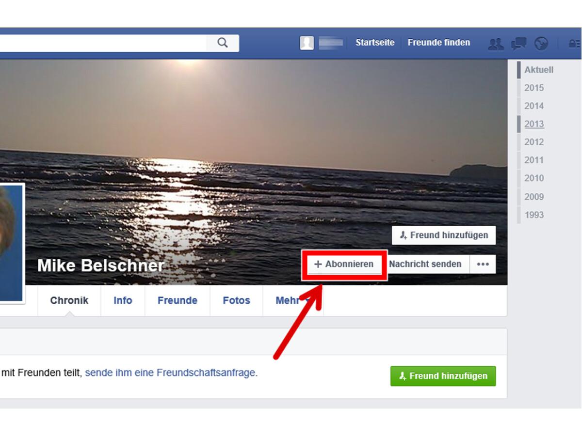 Facebook profil ansehen ohne freundschaft