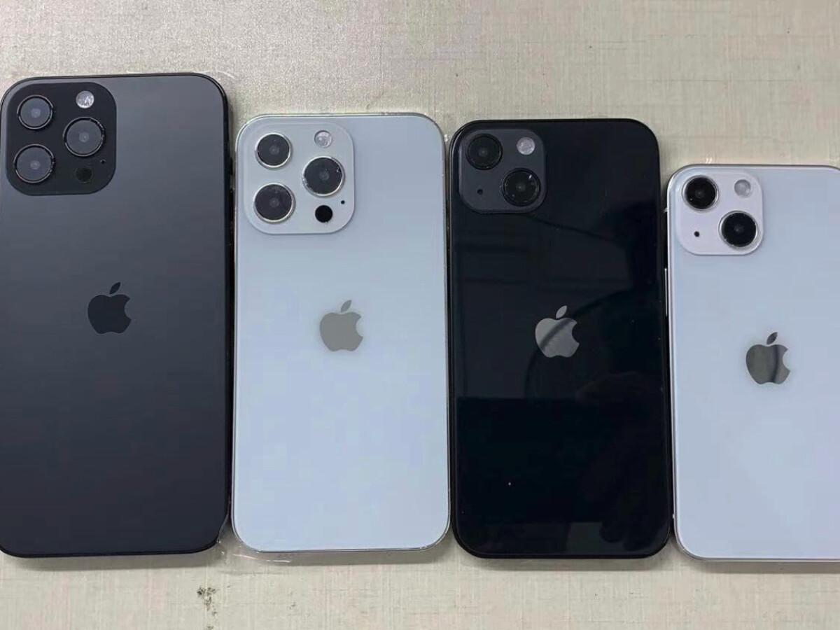 iPhone 20 Reihe Erstes Gruppenfoto zeigt alle vier Modelle   NETZWELT